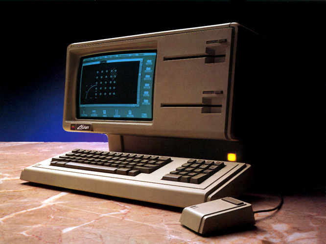 Promotional photo of the Apple Lisa 1 (Apple Computer, Inc.) Photo of ...